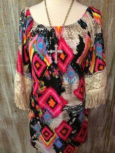 The Bling Box - Montana Fringe Dress, $49.99 (http://www.theblingboxonline.com/montana-fringe-dress/)