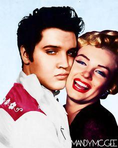 Elvis & Marilyn....
