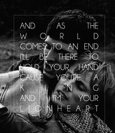 Tear my heart out why don't you...  Merlin/Of Monsters & Men Lyrics