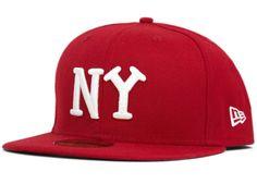 timeless design ecc20 5ec6e NEW ERA x NEGRO LEAGUE 「New York Yankees」59Fifty Fitted Baseball Cap Fitted  Baseball