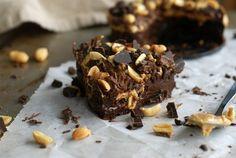 Glutenfri Snickerskladdkaka utan tillsatt socker //Baka Sockerfritt