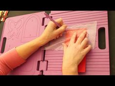 Crafter's Companion Dry Embossed Edge - YouTube