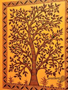 Madhubani Art by Pratibha Madan @Preetkriti