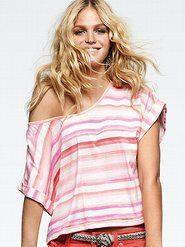 Summer Tops & Tees - Victoria's Secret...want.