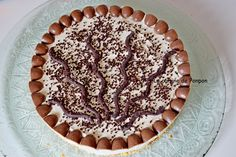 Tarte schoko-bons, sans cuisson, que c'est bon! Biscuits, C'est Bon, Tiramisu, Ethnic Recipes, Desserts, Food, Whipped Cream, Jelly, Pie