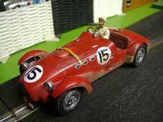 Allard J2 Slot Car Slot Car Racing, Slot Cars, Running Gear, Police Cars, Car Car, Dreams, Trains, Legends, Resin