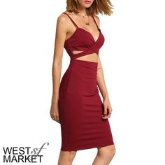 Listing for @Katwatson59 Bodycon cut out dress as described in original listing. Dresses Midi