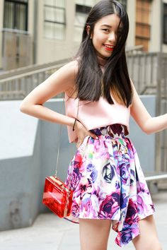k is for kani sara phillips flower dress topshop limited edition crop top 61 happy new year!