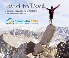 Get effective #Lead Management using #SalesBabu CRM https://www.youtube.com/watch?v=Aqx0t2ZnIzA