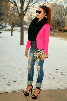 Personal Style by Iman Oubou: OOTD: Dazzle me Pink Follow me @missoubou