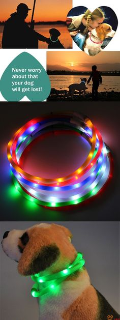 US$5.99 + Free Shipping. Waterproof Rechargeable LED Collar. No more worry for losting your dogs. Buy at banggood now.