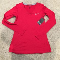 Selling this Nike Pro Dri Fit Long Sleeve Tee in my Poshmark closet! My username is: the_lex_factor. #shopmycloset #poshmark #fashion #shopping #style #forsale #Nike #Tops