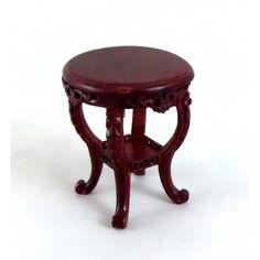 Dolls House Fine Miniature Furniture Mahogany Severin Suitor Side Wine Table