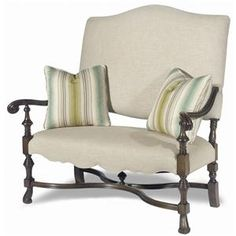 Paula Deen Home Traditional Settee with Turned Wood Frame by Paula Deen by Universal - Fashion Furniture - Love Seat Fresno, Madera, Clovis