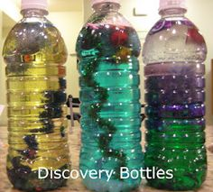 Love, Play, Learn: Older Kids Discovery bottles