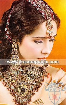Style DRJ1055, Product code: DRJ1055, by www.dressrepublic.com - Keywords: Indian Pakistani Jewelry, Jewelery Online Shops Tampa, FL, USA