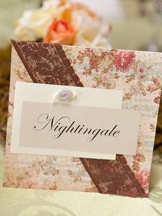 Ideas for Table Names and Numbers , Wedding Reception symbols of love