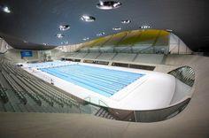 Aquatic center - London - Zaha Hadid (1)