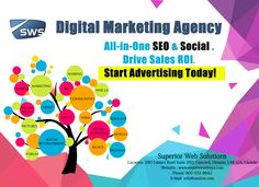 Digital Marketing Agency : ALL-IN-ONE SEO & SOCIAL, DRIVE SALES ROI. Start Advertising Today !  Superior Web Solutions build successful online solutions like web development, Mobile App Development, Web Designing, Online Marketing Solutions and Dedicated Server Hosting  in Toronto, Canada. Get a Quote Now at www.superiorwebsys.com