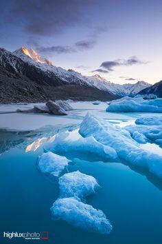 Winter Morning in Mount Cook National Park ~ Aoraki, New Zealand