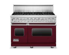 Viking Grange - 10 Colorful Kitchen Appliances Photos   Architectural Digest