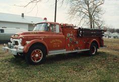 Retired Engine 1958 GMC/Pirsch