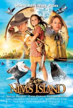 Nim's Island is a great story for all of you book lovers/novel writers. It may be a kids movie but it is great!