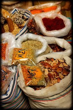Spices by _Omar, #Egypt, #Cairo, #market