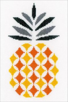 Pineapples - Cross Stitch Patterns & Kits - 123Stitch.com