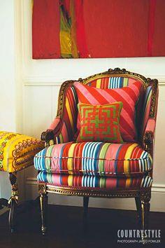 Kolme kotia - Three Homes Kolme persoonallisesti ja värikkäästi sisustettu kotia sekä keväisiä kukkaideoita. Koti Yhdysvalloissa - A H...