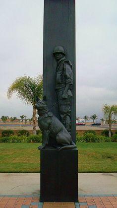 War Dog Memorial, March Field, California
