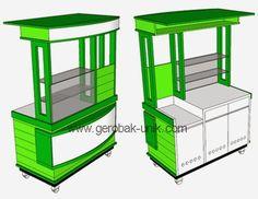 Coffee Carts, Coffee Shop, Juice Bar Interior, Vendor Cart, Food Cart Design, Diy Outdoor Bar, Food Kiosk, Drink Cart, Stop And Shop