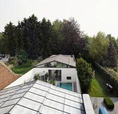 OFFICE KERSTEN GEERS DAVID VAN SEVEREN WEEKEND HOUSE. MERCHTEM , BELGIUM