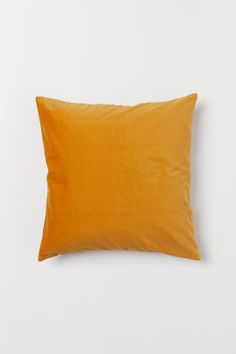 Velvet Cushion Cover - Mustard yellow - Home All Mustard Bedding, Linen Bedding, Bed Linens, Bedding Sets, Luxury Bedding Collections, Home Collections, Cushion Covers, Pillow Covers, Beige