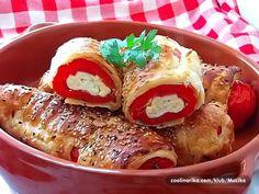 Domaći Kuhar - Deserti i Slana jela: Turski specijalitet. Punjene paprike u lisnatom ti...