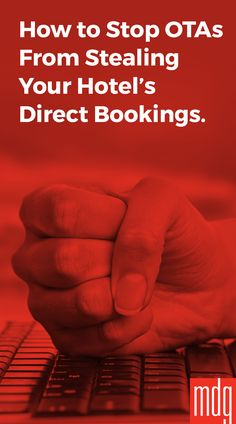 How to Stop OTAs from Stealing Your Hotel's Direct Bookings -- Direct bookings are big business for hotels, but the rise of online travel agencies (OTAs) is costing hotels these reservations and revenue. But thanks to Marriott's merger with Starwood, now guests can choose from thousands of properties from 30 hotel brands around the world through one united hotel brand.