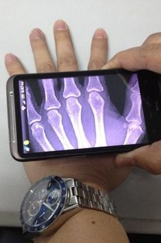 Future Mobile That Has The Imaging Technology Which Lets It See Through Walls