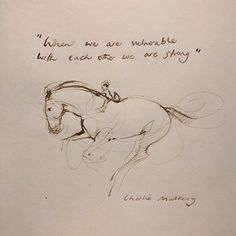 The inspiring world of Charlie Mackesy - Zentangle Doodle Drawing Lineart Zeichnen Skizzieren Sketch Concept Art Digital Painting - Tattoo Doodle Drawing, Boy Drawing, Woman Drawing, Charlie Mackesy, The Mole, Horse Shirt, Horse Quotes, Horse Drawings, Illustration