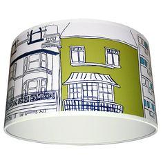 harlequin brighton wallpaper lampshade by love frankie | notonthehighstreet.com