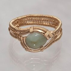 Wire Wrapped Ring by Ben Claus Size 11 by MechanicalDreams on Etsy, $100.00