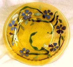 Bullseye glass bowl Bullseye Glass, Plates, Tableware, Inspiration, Licence Plates, Biblical Inspiration, Dishes, Dinnerware, Griddles