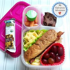 Back to school lunchbox round-up for a week! With #EasyLunchboxes