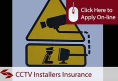 Self Employed Closed Circuit Television and CCTV Installers Liability Insurance