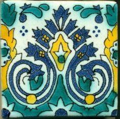 1920's Pool Tile Spanish Revival Design