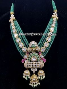 Designer & Temple collection with Hallmark. Diamond, Uncut & Jadau Polki Collection @ A.T Jewellers, Raipur. Royal Jewelry, India Jewelry, Beaded Jewelry, Fine Jewelry, Silver Jewelry, Stylish Jewelry, Fashion Jewelry, Indian Wedding Jewelry, Bridal Jewellery