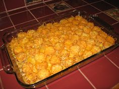 ~ Whitfield's Home ♥ In The Country ~: Tator Tot Casserole