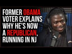 Obama Voter Explains Why He SWITCHED To The Republicans And Is Running For Congress, SLAMS Democrats - YouTube Bullet Journal Reflection, Young Republicans, Election Votes, Faith In Humanity, Explain Why, Slammed, Good People, Did You Know, Obama