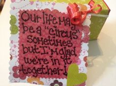Candy notes to your husband or significant other.... Knottyland