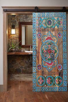 Interior Sliding Barn Doors, Sliding Doors, Front Doors, Wood Entry Doors, Rustic Doors, Art Mural Photo, Living Room Mirrors, Wood Wall Decor, Deco Design