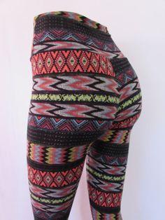 Stretch+Cotton+Spandex+Leggings+festival+by+ZanzaDesignsClothing,+$35.00